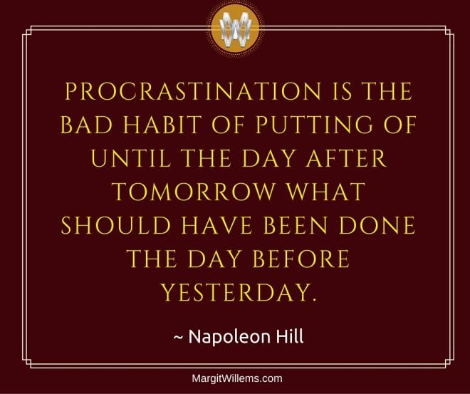 NapoleonHillProcrastination