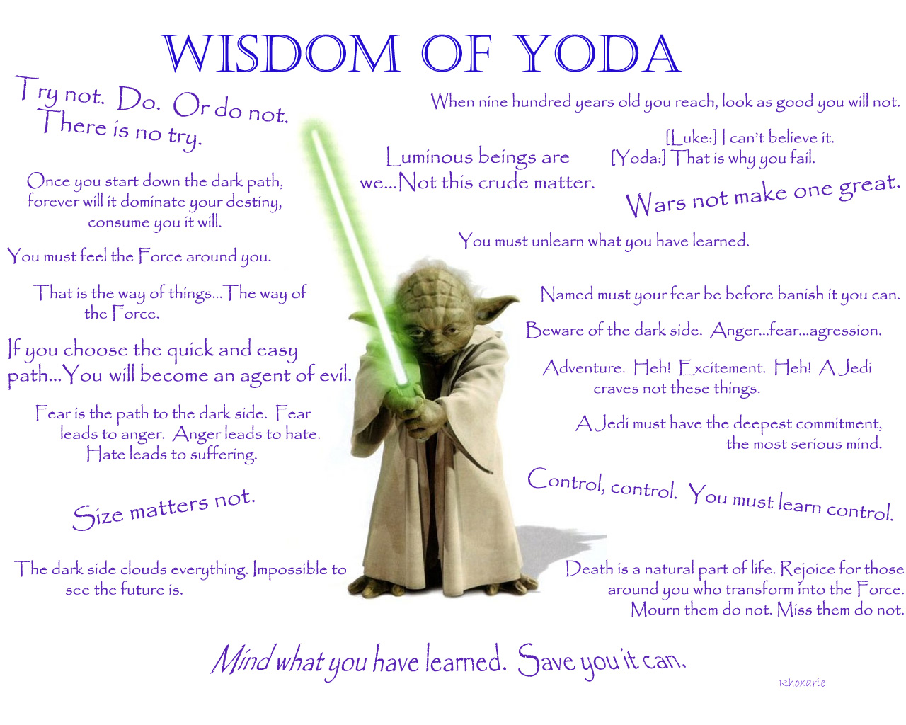 Quote Yodas Wisdom Blocked Up